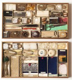 Educational specimen box, 1850. England. Via V&A  Johann...
