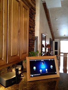 "Custom built 22"" LED television, built from hardwood hickory via iGotCoolStuff.com"