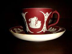 Wedgwood Crimson Jasperware