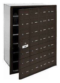 4B+ Horizontal Mailbox (Includes Master Commercial Lock) - 28 A Doors (27 usable) - Bronze - Front Loading - Private Access by Salsbury Industries. $835.52. 4B+ Horizontal Mailbox (Includes Master Commercial Lock) - 28 A Doors (27 usable) - Bronze - Front Loading - Private Access - Salsbury Industries - 820996417589