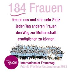 Internationaler Frauentag Movies, Movie Posters, International Women's Day, My Wife, Proud Of You, Things To Do, Deutsch, Film Poster, Films