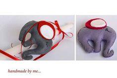 Lambades ,handmade,easter, little elephant,    Eva Rigou