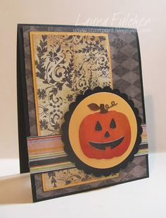 Laura's Stamp Art Journal: IO Die Blog Hop- Day 1