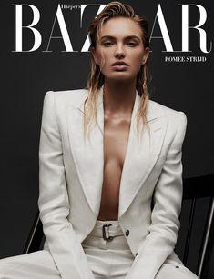 Romee Strijd on Harper's Bazaar Greece March 2018 Cover