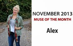 STACY IGEL: Midnight inspirations: Meet our November Muse of the Month!