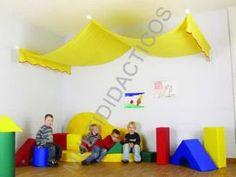 #Cortina #infantil para tejado de #guardería para un rincón de #juego - Tienda Educamueble