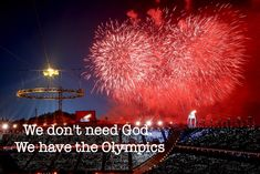 The opening ceremony of the Winter Olympics was spectacular. How can God compete with all that pageantry and fireworks? The Olympic athletes demonstrate the triumph of the human spirit. Their hard work and victories inspire us all.  Who needs God when we have the Olympics? Then I see an article like the one below and realize once again that we all need a moral compass to navigate through this crazy culture we live.  We all desperately need Jesus.
