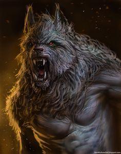 ipowder: Werewolf by Brenthollowell