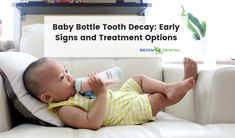 In some children, continued milk bottle use may result in cavity formation and baby teeth loss early which is referred to as baby bottle tooth decay (BBTD). Fortunately, the tooth can still be protected if the problem is identified early on. Baby Bottle Tooth Decay, Tooth Decay Treatment, Tooth Decay In Children, Teeth Implants, Dental Implants, Dental Hygienist, Wisdom Teeth Funny, Dental Crowns, Science Fair Projects