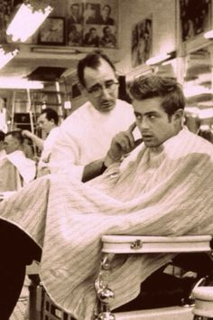 James Dean...beyond timeless. Hair still fashionable today!