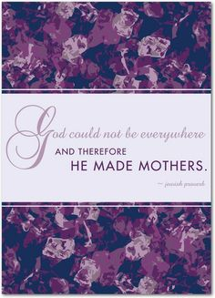 Pretty Proverb - Mother's Day Greeting Cards in Amethyst | Magnolia Press