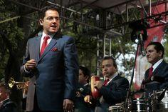 Se presenta Mono Blanco y la Sonora Santanera en la Feria de las Culturas Amigas. El grupo Sonora Santanera presentó en el Foro Artístico de la Feria de las Culturas Amigas. Foto: Abril Cabrera A.
