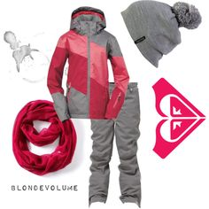 A fashion look from February 2013 featuring Roxy activewear jackets, Roxy activewear pants and Simply Vera scarves. Browse and shop related looks.