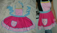 Pinkie Pie Apron  inspired by My Little by HiWireCreations on Etsy, $40.00
