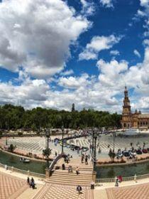 Visita Sevilla   Plaza España