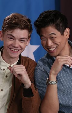 Tinder is a minefield of left and right swipes. But would you swipe right for Jon Snow, Captain America, and Gale Hawthorne? The Maze Runner, Maze Runner Thomas, Maze Runner Series, The Scorch Trials, Thomas Brodie Sangster, Film Serie, Portraits, Beautiful Boys, Celebrity Crush