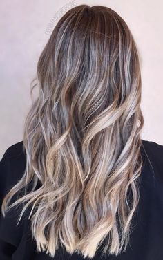 brunette-highlights-with-subtle-ash-tones.jpg (373×595)