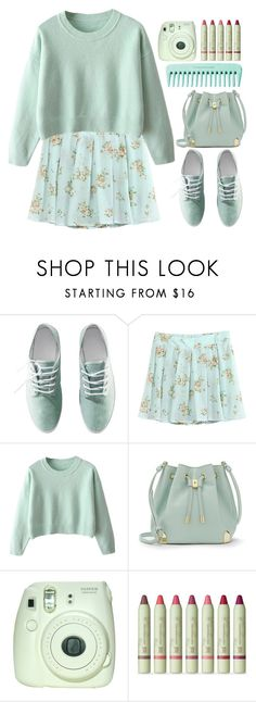 """""""That's what the water gave me"""" by annaclaraalvez ❤ liked on Polyvore featuring H&M, Vince Camuto, Fuji and Pixi"""