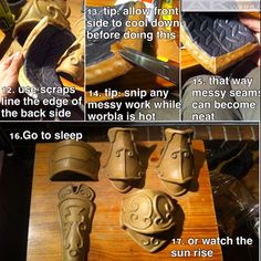 """tmirai: """" alltheawesomecosplay: """" Foam and Worbla armour MEGA TUTORIAL Tutorial by AmenoKitarou """" Super duper awesome and helpful! I am totally going to try this out for my Garrosh cosplay. """""""
