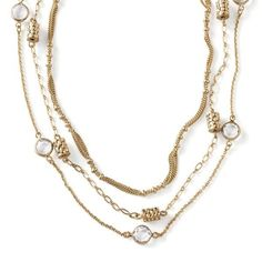 """Nwt 16""""""""-19"""""""" Necklace Worn 7 Different Way"""