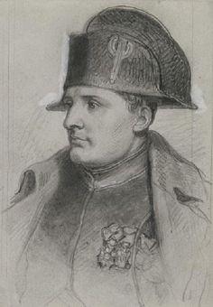 L'empereur Napoléon 1er (1769-1821) en uniforme de colonel des chasseurs à cheval de la garde
