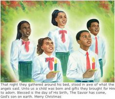 african american christmas   It's A Black Thang.com - African American Christmas Cards - Greeting ...