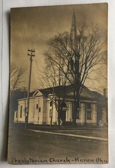 c1910 Presbyterian Church in Huron OH