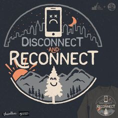 Reconnect by NDTank and The Paper Crane on Threadless