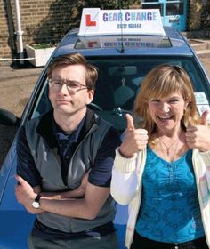 David Tennant Photo Of The Day - 21st November 2014: As Chris in 'Learners' (with Jessica Hynes as Beverley) - November 2007