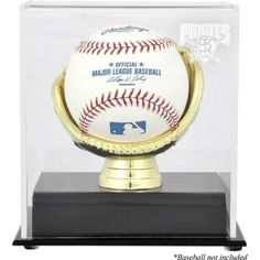 Pittsburgh Pirates Fanatics Authentic Gold Glove Single Baseball Logo Display Case - $24.99