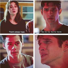 Saddest.part.ever! Jeff Davis you are ruining me!<<< ACTUALLY! DYLAN O BRIEN WROTE THIS SCENE!!!!!!!