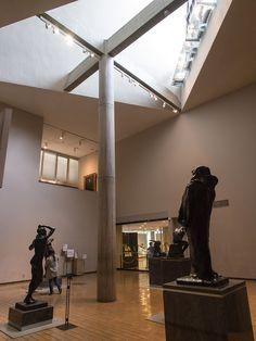 国立西洋美術館/ル・コルビュジェ。  国内だと屋内撮影可能な数少ない美術館。海外は基本OKなんだけどな。