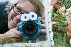 Cookie Monster Camera Lends Scrunchie!!