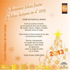 Felicitación Navideña del Centro Andaluz de las Letras