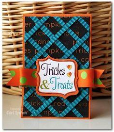 Cute Lattice work card!