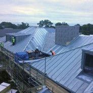 Housing Trust Homes In Swanley Kent Metal Roof Ltd Swanley Metal Roof Small Buildings