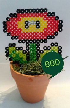 Check out this item in my Etsy shop https://www.etsy.com/listing/289925031/potted-mario-brothers-ice-flower