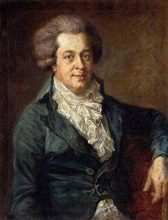 W.A. Mozart?. Johann Georg Edlinger, 1790. Gemäldegalerie, Berlin. Families of the World ~ The Universal Compendium