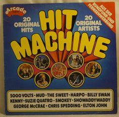 HIT MACHINE - LP - von Arcade - ADE G9 - 1975 Pop, Arcade, Ebay, The Originals, Tv Adverts, Popular, Pop Music