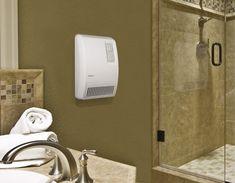 Home Hardware - 240 Volt 2000 Watt White Bathroom Wall Heater Bathroom Heater, Bathroom Towels, White Bathroom, Bathroom Wall, Small Bathroom, Bathrooms, Compact Furniture, Timeless Bathroom, Wooden Brush