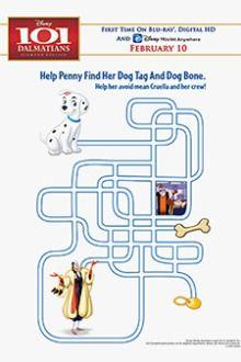 Maze | Free Disney's 101 Dalmatians Printables, Downloads, Activities and More! | SKGaleana