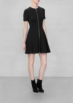 & Other Stories | Zip Front Skater Dress