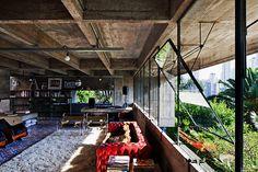 Casa Butantã, Paulo Mendes da Rocha, Sao...