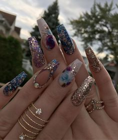 Pierced Pierced nail designs are currently getting more popular. Your next decision is going to be to determine if you would like to bring any elements to your nails. Getting Gel Nails is the best means to dress up your hands. Glam Nails, Dope Nails, Fancy Nails, Bling Nails, Stiletto Nails, Glitter Nails, Gradient Nails, Acrylic Nails, Matte Nails