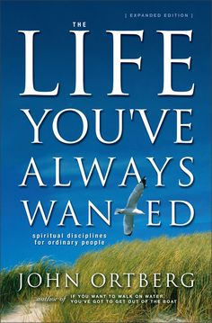 by John Orberg..really extremely great book. Recommend to everyone, that is, if you want more of what God offers.