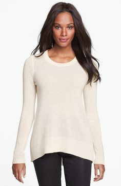 e982d6daa4 White + Warren Cashmere Crewneck Pullover available at  Nordstrom White And  Warren