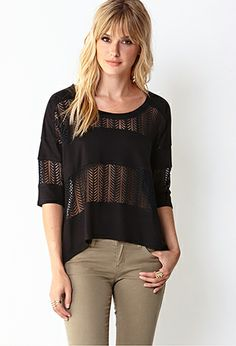Lovely Lace Top | FOREVER21 - 2031558212