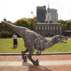 Jurassic World: The Exhibition Makes Its North American Debut At The Franklin Institute