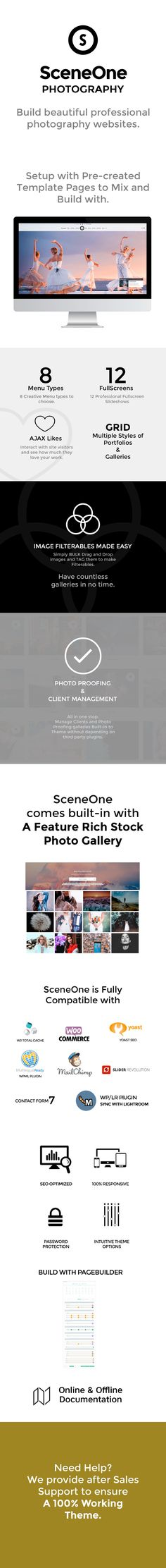 Download SceneOne | Photography Theme for WordPress (Photography)