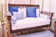 Porch Swing Frame, Crib Swing, Porch Swing With Stand, Porch Swings, Hanging Crib, Diy Daybed, Diy Crib, Diy Porch, Crib Mattress